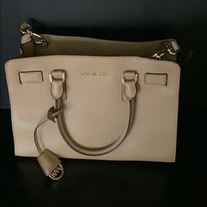 Michael Kors Medium Beige Satchel